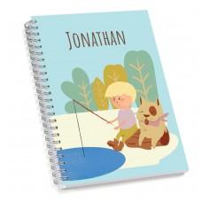 My Adventure - Fishing Boy Sketch Book