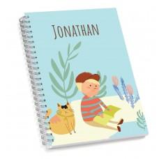 My Adventure - Reading Boy Sketch Book