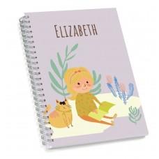 My Adventure - Reading Girl Sketch Book