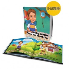 "Personalised Story Book: ""Learns Please and Thank You"""