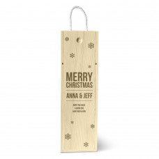 Snow Flakes Single Wine Box