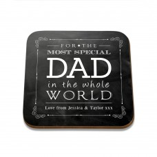 Special Dad Square Coaster