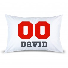 Sports Number Pillow Case
