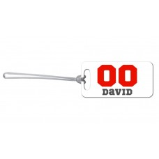 Sports Number Bag Tag