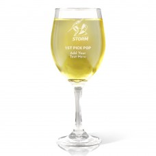 NRL Storm Father's Day Wine Glass