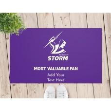 NRL Storm Door Mat