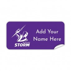 NRL Storm Rectangle Name Label