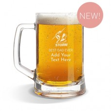 NRL Storm Glass Beer Mug