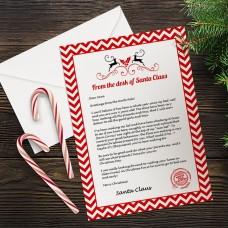 Stripe Santa Letter