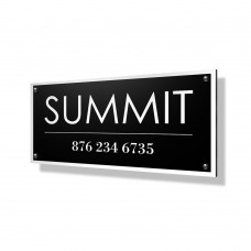Summit Business Sign