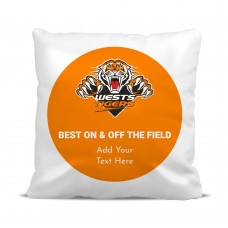 NRL Tigers Cushion Cover