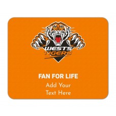 NRL Wests Tigers Mouse Mat