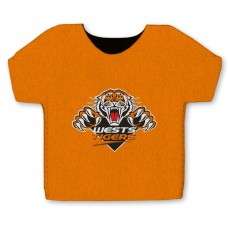 NRL Wests Tigers Jersey Stubby Cooler