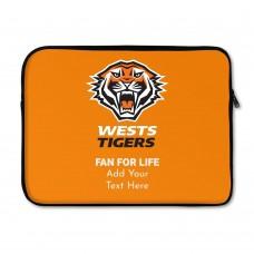 NRL Wests Tigers Laptop Sleeve