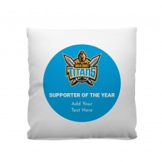 NRL Titans Premium Cushion Cover