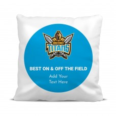 NRL Titans Classic Cushion Cover