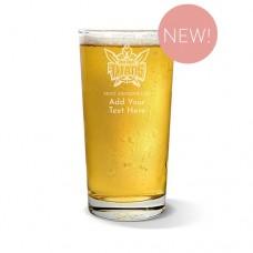 NRL Titans Pint Glass