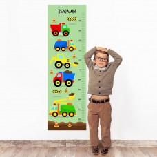 Truck Wall Decal Height Chart