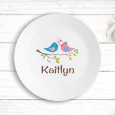 Two Birds Kids' Plate