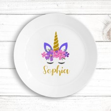 Unicorn Kids' Plate