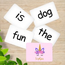 Unicorn Sight Word Cards