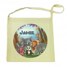Visits the Zoo Tote Bag