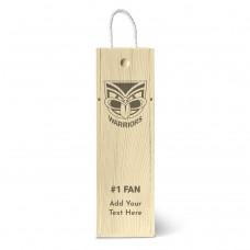 NRL Warriors Single Wine Box