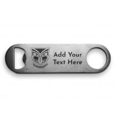 NRL Warriors Father's Day Bottle Opener