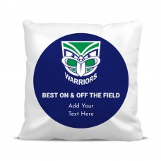 NRL Warriors Classic Cushion Cover
