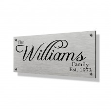 Williams Business Sign