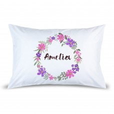 Wreath Pillow Case