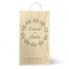 Wreath Double Wine Box