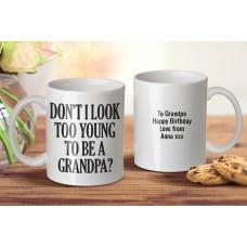 Young Grandpa Mug