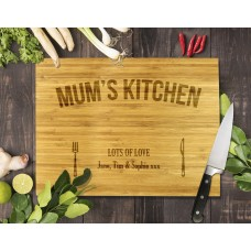 Mum's Kitchen Bamboo Cutting Board