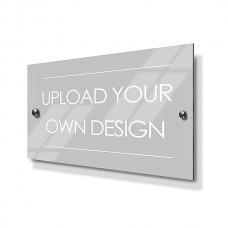 Custom Metal House Sign