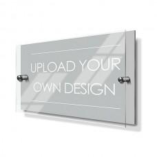 20x15cm Custom Premium Acrylic House Sign