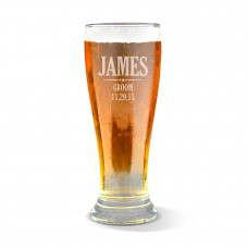 Groom Premium Beer Glass