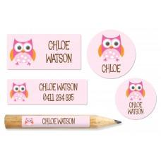 Owl Works Label Pack (221 Labels)
