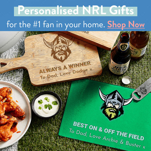 Personalised NRL Gifts